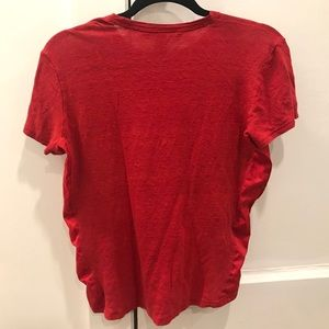 Marc By Marc Jacobs Tops - red Marc by Marc Jacobs linen tee